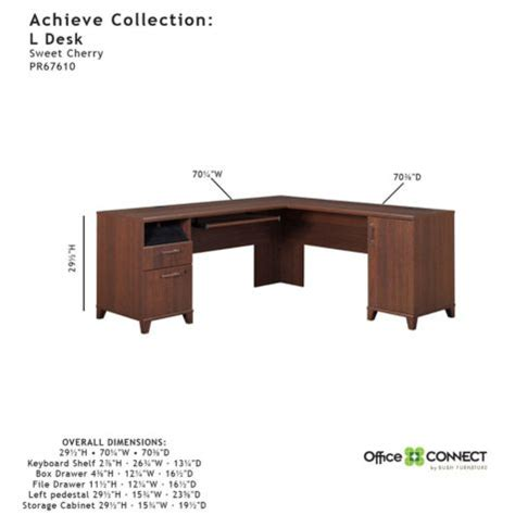 desk with return and hutch achieve l desk with right return and hutch