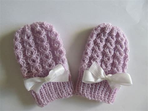 easy knit baby mittens pdf knitting pattern baby thumbless mittens infant mitts