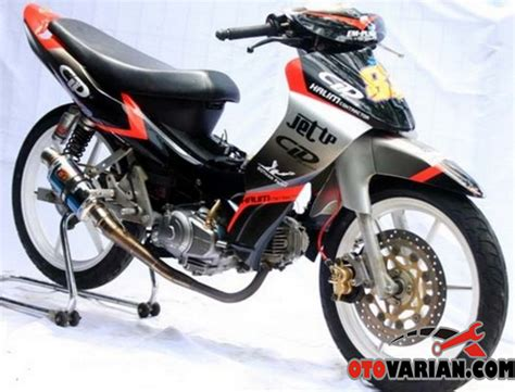 Modifikasi Motor Race by Gambar Modifikasi Jupiter Z Road Race Paling Sporty Dan Keren