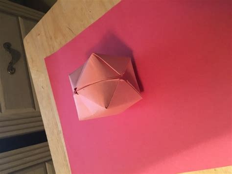 origami paper balloon how to make an origami balloon 8 steps with pictures