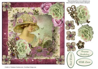 free craft downloads decoupage portrait with decoupage cup421226