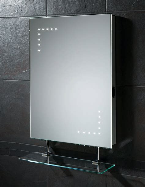 bathroom mirror lights with shaver socket hib celeste led mirror with glass shelf and shaver socket