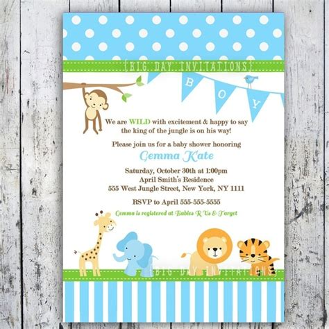 make a baby shower card free baby boy shower invitations printable theruntime