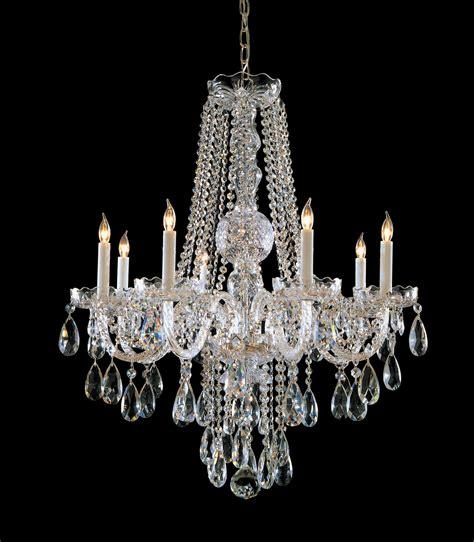 swarovski spectra chandelier crystorama 1108 pb cl saq swarovski spectra