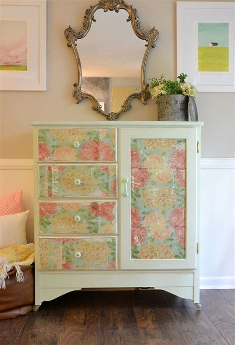 how to decoupage wood 268 best decoupage furniture images on