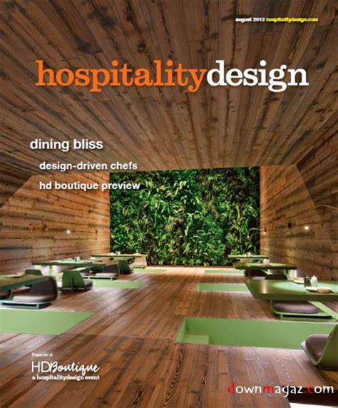 hospitality design august 2012 187 pdf magazines