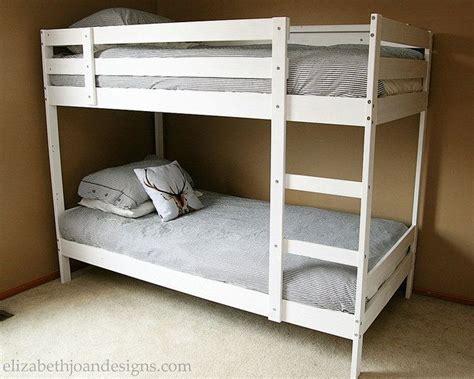 ikea white bunk beds best 20 ikea bunk bed ideas on