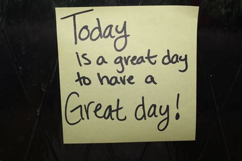 for day day forty nine leave post it s around town with positive