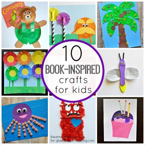 craft books for book inspired kid crafts roundup i crafty things