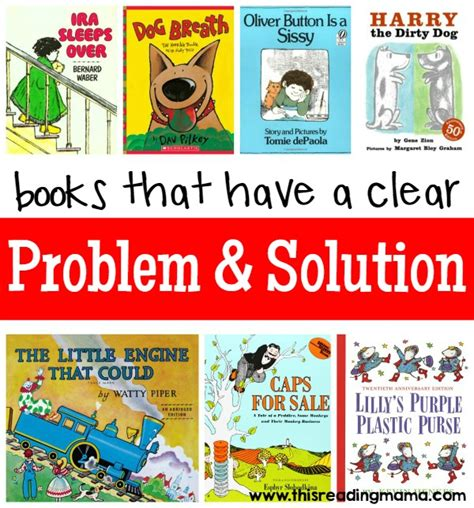 narrative picture books books with a clear problem and solution