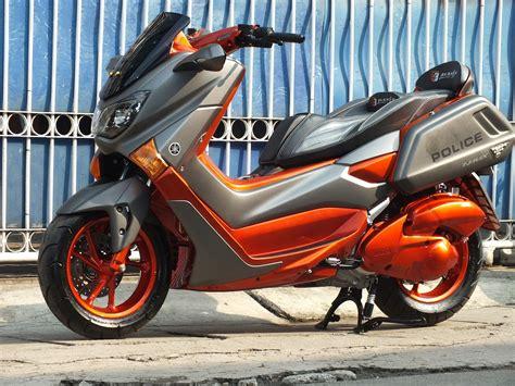 Gambar Motor Otomotif by Gambar Modifikasi Nmax Merah Otomotif
