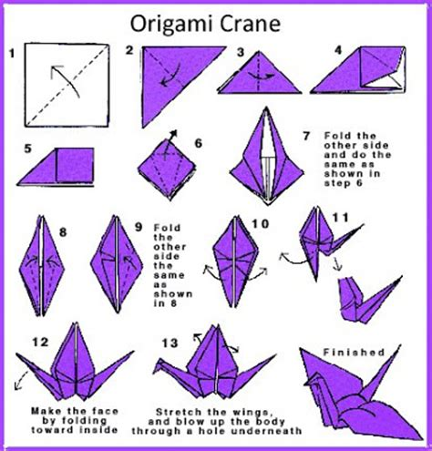 list of origami irandomness origami crane my features article