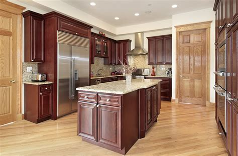 cherry kitchen cabinets with granite countertops white granite countertops with cherry cabinets