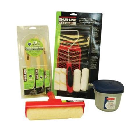 home depot paint brushes and rollers shur line home projects 12 paint brush and roller