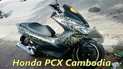 Pcx 2018 In Cambodia by Honda Pcx Cambodia New Decal Sticker Ms
