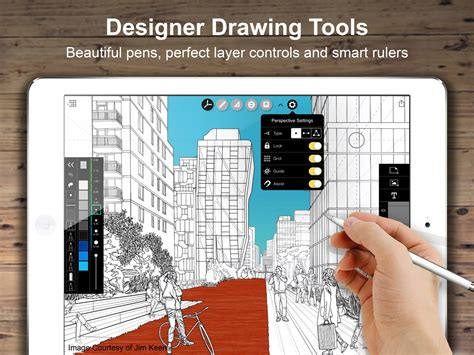 paint tool sai perspective ruler morpholio trace