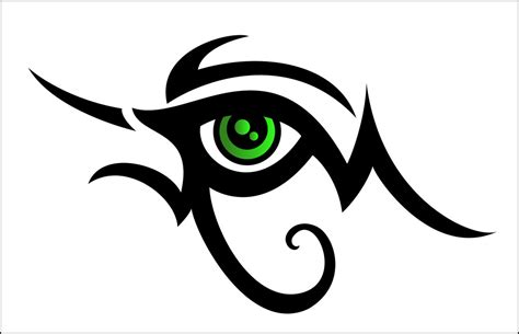 eye designs tribal design