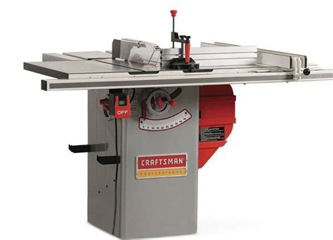 hybrid table saw reviews woodworking craftsman 22124 hybrid tablesaw finewoodworking
