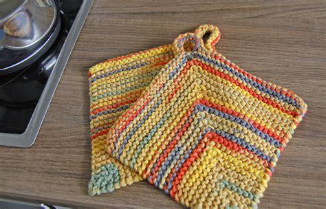 stricken topflappen anleitung topflappen stricken aus b 228 ndchengarn sockshype