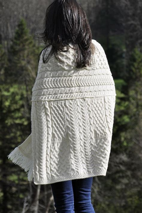 modern aran knitting patterns for the modern and pockets on