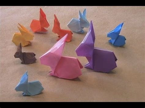 easy origami rabbit origami rabbit by stephen o hanlon