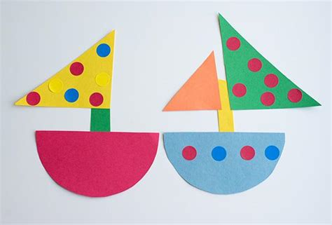 construction paper crafts for 2 year olds nautical baby shower simple diy baby shower ideas part 2