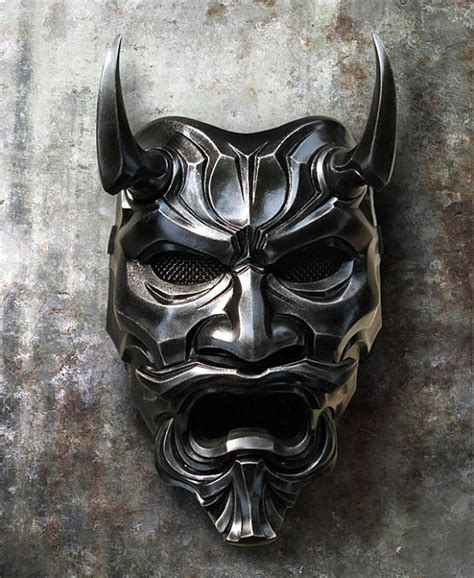 uncle oni mask 316 japanese noh style fiberglass art mask