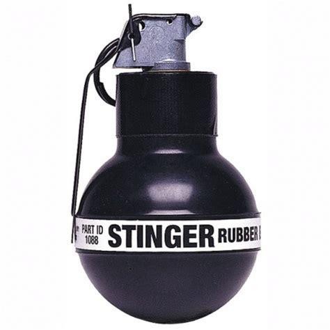 sting rubber defense technology 32 caliber stinger rubber grenades