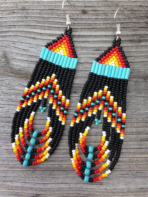 learn how to bead american 25 unique beaded earrings ideas on