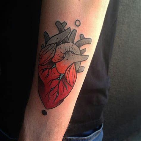 35 sensitive anatomical heart tattoo designs