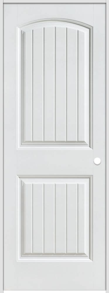 28 inch interior door masonite 28 inch x 80 inch lefthand primed 2 panel plank