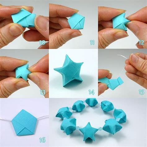 easy origami things lucky folding steps by all things paper via