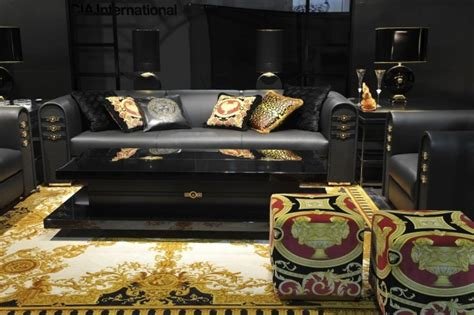 Glamorous Homes Interiors living room trends versace home
