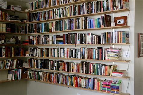 picture of books on shelf hanging bookshelves the bumper crop