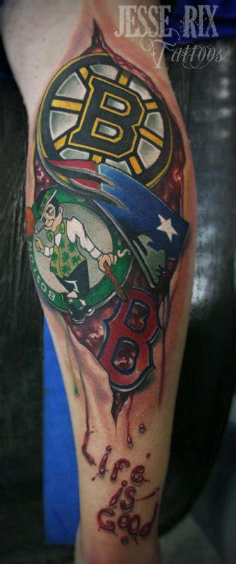 new england sports tattoo by jesserix on deviantart
