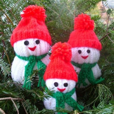 free knitting patterns snowman wonderful diy jolly knitted snowmen with free patterns