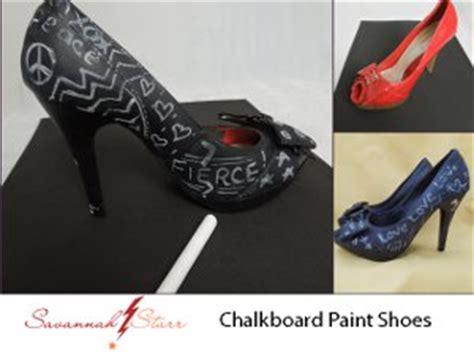 chalk paint shoes chalkboard painted pumps favecrafts