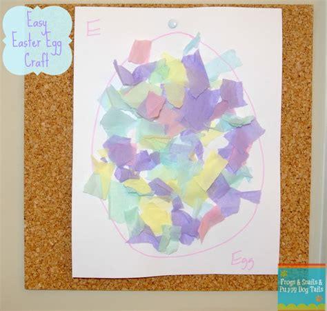 tissue paper easter crafts easter egg craft torn tissue paper fspdt
