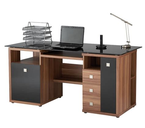 wood computer desks for home wood computer desk at the galleria