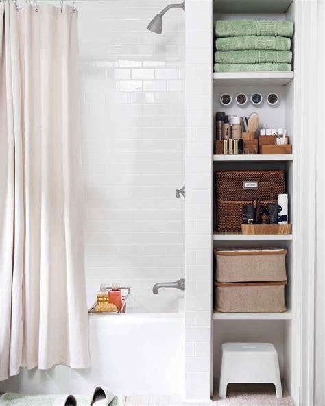 Bathroom Storage Ideas by Smart Space Saving Bathroom Storage Ideas Martha Stewart