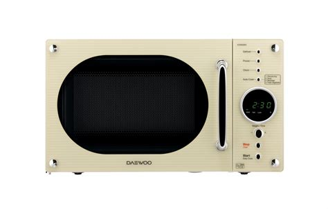 23L RETRO STYLE Touch control Microwave   Daewoo Electronics