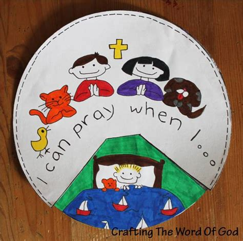 free prayer crafts for i can pray 171 crafting the word of god