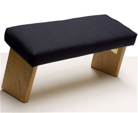 ananda woodworking portable and folding seiza meditation bench best