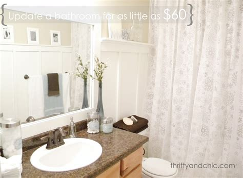 Cheap Bathroom Makeovers by Thrifty And Chic Diy Projects And Home Decor