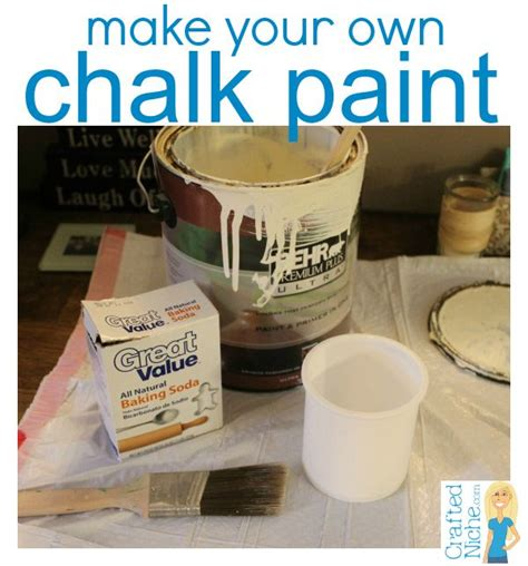 chalk paint recipe with baking soda make your own chalk paint with paint and baking soda