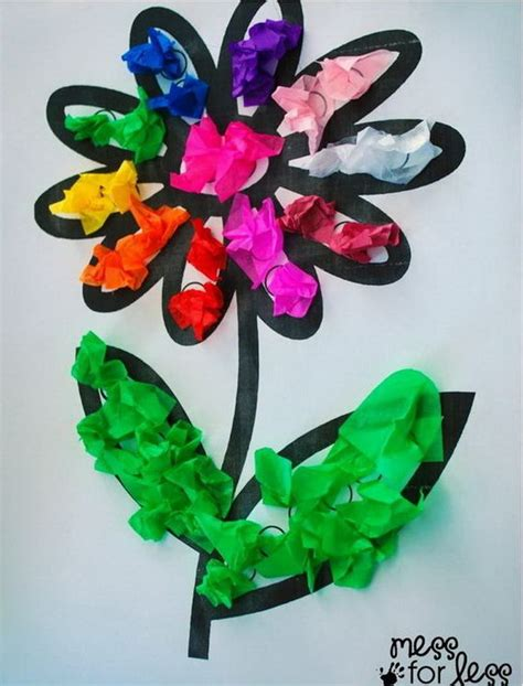 crafts with tissue paper create these easy tissue paper crafts and with