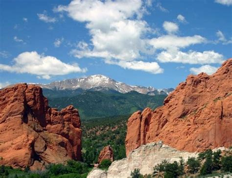 Garden Of The Gods To Pikes Peak Pikes Peak Colorado Springs Car Interior Design