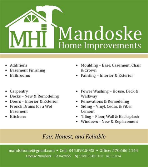 card business from home mandoske home improvement andrea wentzell