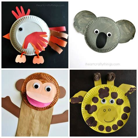paper animal crafts i crafty things 20 paper plate animal crafts for
