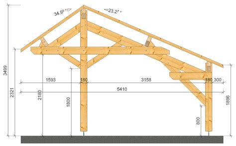 Carport Plans plan carport simple plans maisons